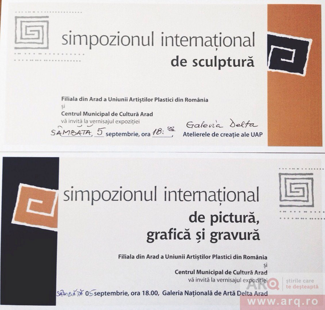 Vernisajele Simpozioanelor Internationale de Pictura si Sculptura Monumentala in Lemn la DELTA