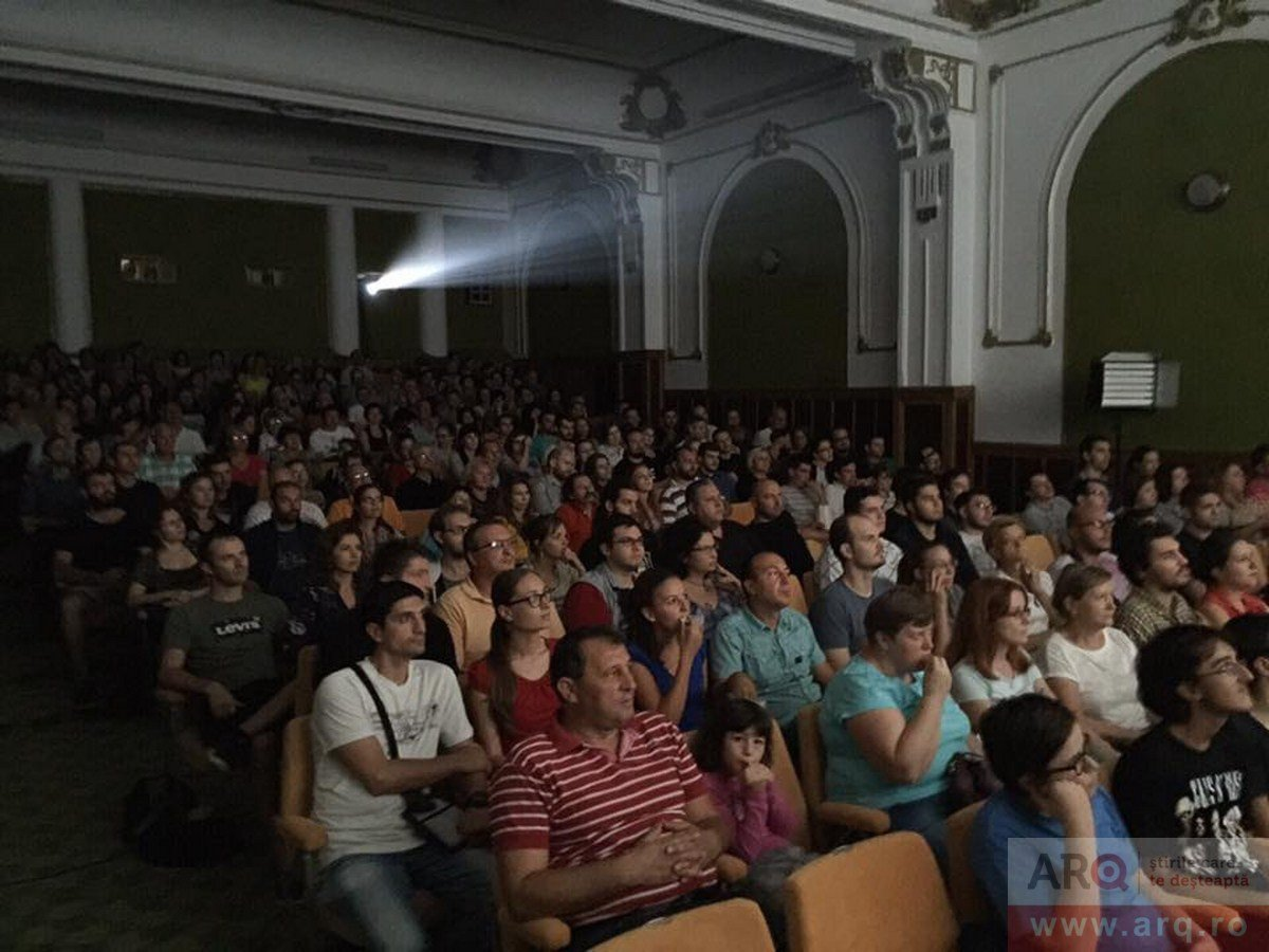 1000 de arădeni la Weekend de Film – Cinematograful Arta