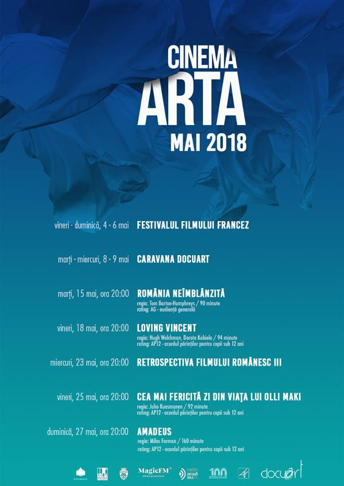 Program Mai Cinema Arta Arad