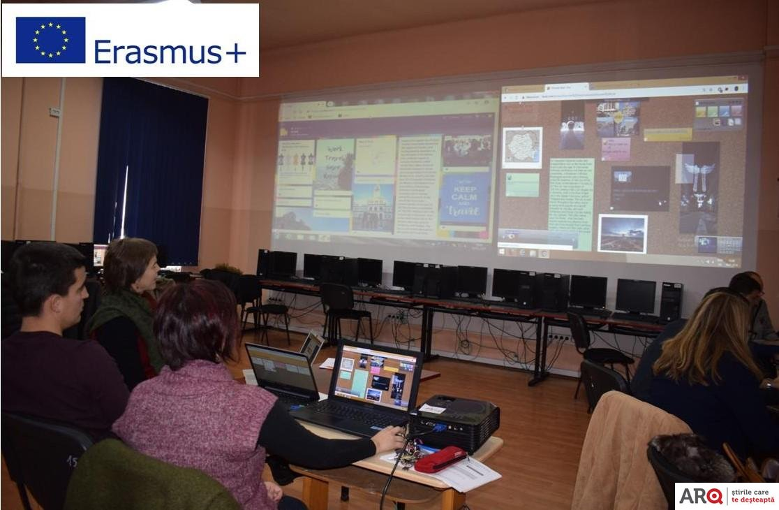 "Proiectul de parteneriat strategic Erasmus+ ,,Effective e-Learning System Based on Digital Competences"" la Liceul Tehnologic ,,Francisc Neuman"" Arad"