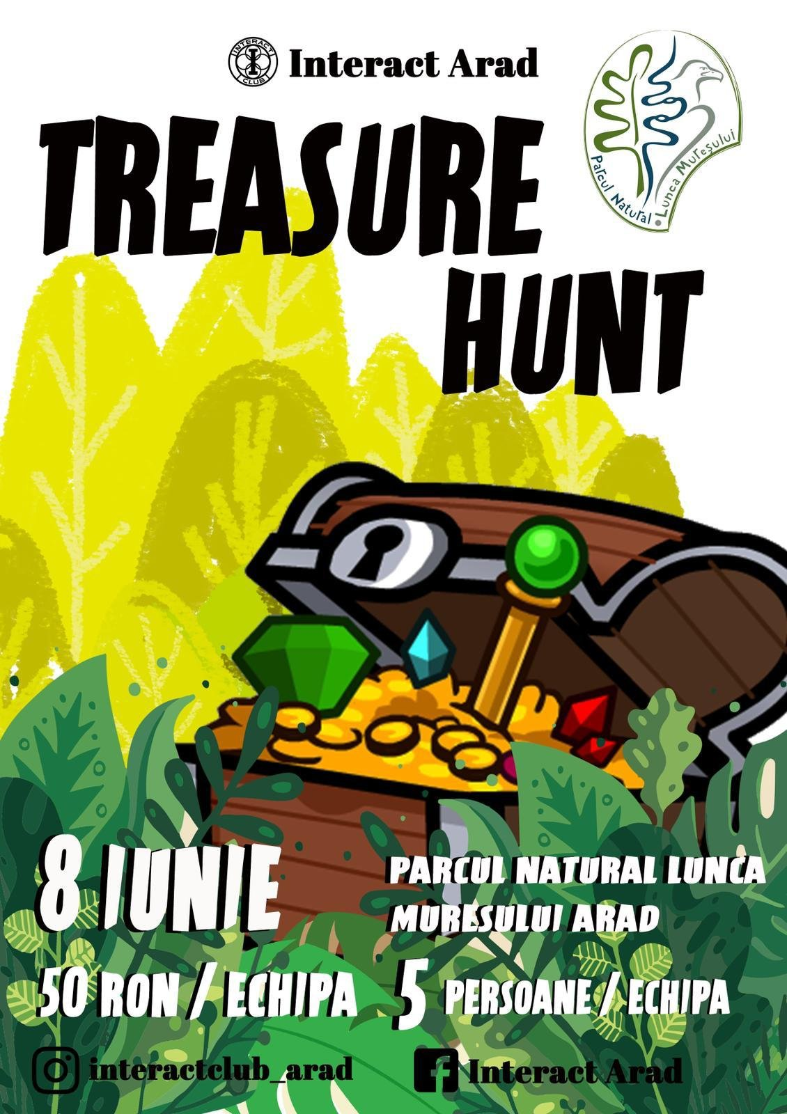 Treasure hunt, la ediția a III-a