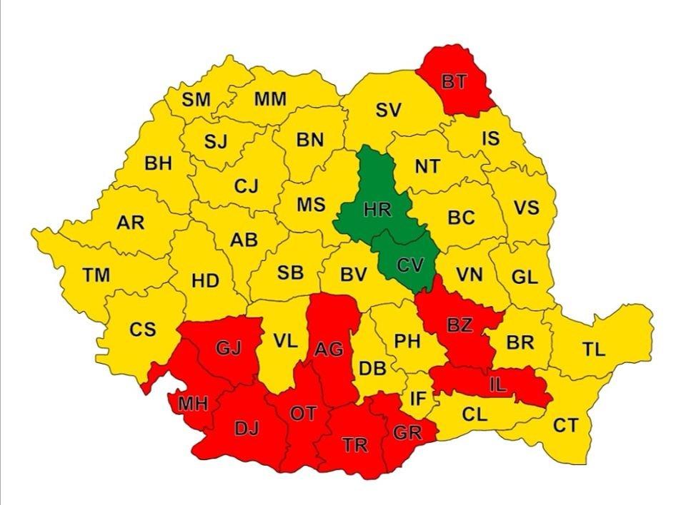 Cum Arată Harta Romaniei După Alegerile De Ieri
