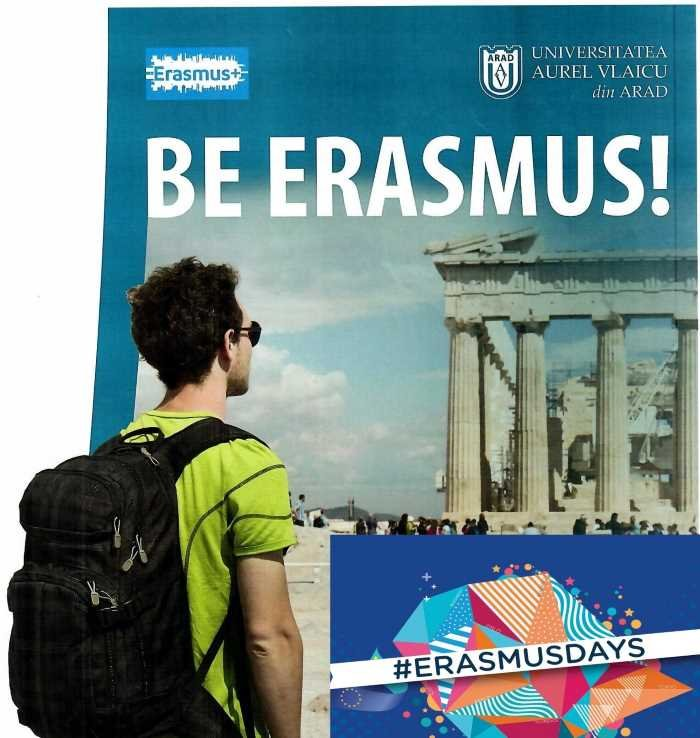 "Erasmus Day la Universitatea ""Aurel Vlaicu"" din Arad"