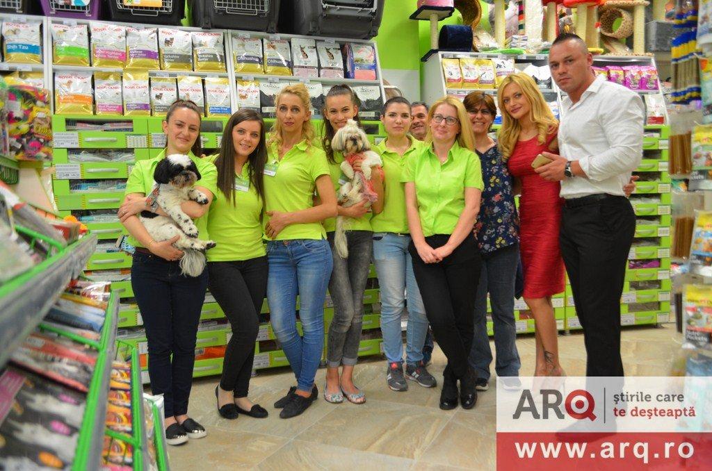 ANIMAX a deschis un nou petshop în Arad
